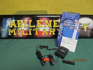 Powerline Car Cord Adapter 3-12 Volts/2000ma with 7 plug (9c) Model 0900-21