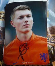 Signiertes Foto Perr Schuurs Ajax Amsterdam  NEU Niederlande