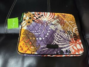 """Vera Bradley Tablet/iPad Sleeve Painted Feather 10.5"""" x 8.5"""" New With Tag"""