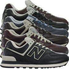 New Balance ML574 Leather Herren Vollleder Fashion Sneakers Schuhe 3 Farben