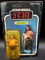 Star Wars THE RETURN OF THE JEDI RANCOR KEEPER UNPUNCHED 1977 Kenner Poor Shape