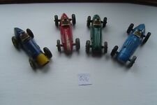 DINKY TOYS 23 SERIES SCARCE RACING CARS LOT ANTIQUE VINTAGE DIECAST W14 1P