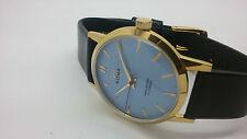 vintage hmt sona gold plated hand winding men's super slim india watch run-q13