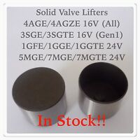 Toyota 4AGE 4AGZE 3SGTE 1GGTE 7MGE 7MGTE 1SZ Shimless Bucket Solid Valve Lifter
