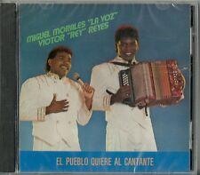 El Pueblo Quiere Al Cantante  Latin Music CD