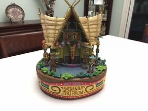Disney Enchanted Tiki Room Large Figurine, RARE, Mint Condition, Collectible