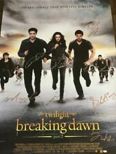 The Twilight Saga: Breaking Dawn Part 2 Cast Autographed Theatrical Poster