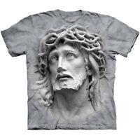 Crown Of Thorns Jesus Christ T-Shirt Religious Christian Catholic Spiritual Tee