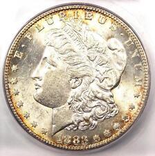 1883-S Morgan Silver Dollar $1 - ICG AU58 PQ - Rare Date in AU58 - Near MS/UNC!