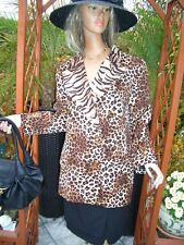 Luxus HERBST COUTURE Escada Blazer tiger animal leo brown 44/46 NP1180,-CAT gold