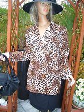 Luxus HERBST COUTURE Escada Blazer tiger animal leo brown 44/46 NP1180,-CAT gold