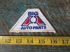 "Vintage Big ""A"" Auto Parts Racing Patch Nascar Scca Nhar Imsa Gt Big A"