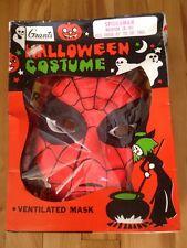 spiderman ( ben cooper ) grants halloween costume 1970