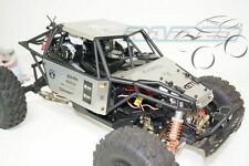 Axial YETI 90025 90026 Stainless Steel Roof Top + Hood + Side Body Panel SILVER