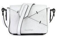 Calvin Klein Luna Small Crossbody Silver