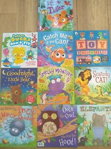 kids reading books bundle, ages 3-6, 10 books in total.