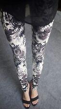 Latest Popular 60 Patterns Funky Checks Flower Prints Women Tight Leggings Pants