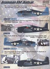 Print Scale Decals 1/72 GRUMMAN F6F HELLCAT Fighter