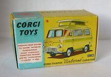 Repro Box Corgi Nr.420 Ford Thames Airborne Caravan