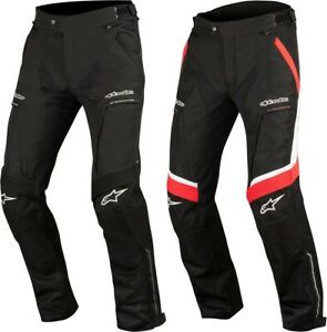 Alpinestars Mens RamJet Air All-Weather Armored Textile Riding Pants