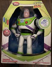 Disney Toy Story Talking Buzz Lightyear Figure Pixar NEW
