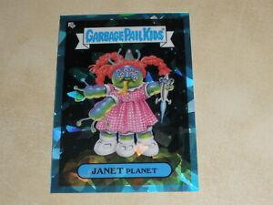 2020 Garbage Pail Kids Sapphire Edition Blue #63b Janet Planet 47/99