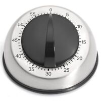 Kitchen Timer 60-Minutes Countdown Mechanical Wind Up Alarm Clock Home Kitche Rt