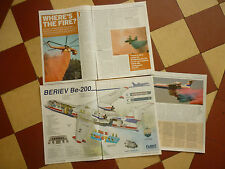 5/2005 ARTICLE 8 PAGES FIREFIGHTERS BERIEV BE-200 ERICKSON AIR-CRANE CANADAIR