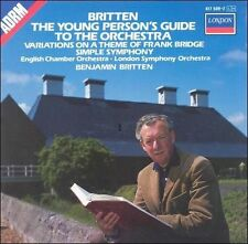 Britten: The Young Person's Guide to the Orchestra; Variations on a Theme of Fra