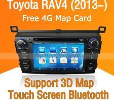 Car Dash DVD Player GPS Navigation Radio Stereo iPod for Toyota RAV4 2013 2014