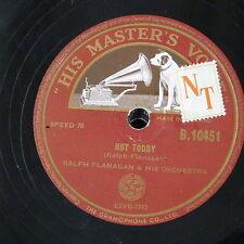 78rpm RALPH FLANAGAN hot toddy / student prince serenade