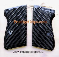 *$54 SALE* PPK/S Real CARBON FIBER Custom Grips WALTHER PPKS Smooth OR Textured