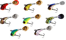 100 JIG SPINNERS SIZE 1 NICKEL CHROME FISHING LURE SPINNER COLORADO BLADE