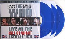 THE WHO LP x 3 Live At The Isle Of Wight Festival 1970 BLUE Vinyl SEALED