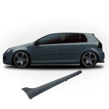 2 BAS DE CAISSE EN ABS TYPE GTI POUR VW GOLF 5 MODELE 3 / 5 PORTES TDI FSI