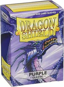 Dragon Shield Classic Standard Size Sleeves 100pk-Purple