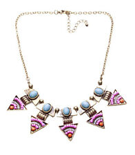 The Pharoah's secret lover's multcolured statement egyptian style necklace