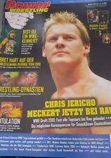 Power Wrestling Juni 06/2010 WWE WWF TNA + 4 Poster (Edge, Natalya, Fatal 4 Way)
