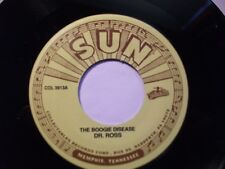 BLUES 45. Dr. ROSS - The Boogie Disease USA  re-issue