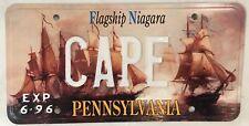 Vanity CAPE license plate Cod May Hatteras Canaveral Verde Bonavista Horn ship