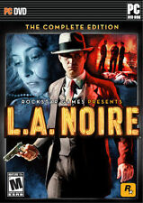 L.A. NOIRE THE COMPLETE EDITION  Solve brutal crimes, plots and conspiracies NEW