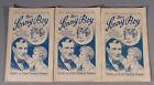 3 Romane MEIN SONNY BOY von ERNST FREIDRICH PINKERT ~ 1930