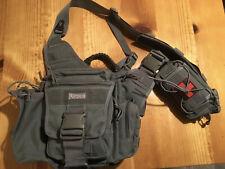 Maxpedition Jumbo Versipack Foliage Green And Janus Extention Bag Tactical Molle