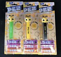 PEZ Bee's American Set of 3 Bee Happy Bee Amazing Bee Original on Blister Cards