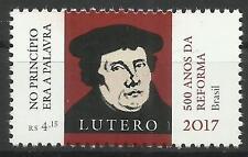 Brasilien Gemeinschaftsausgabe - 500. Jahre Reformation - Martin Luther -