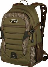 New Drake Waterfowl Camo Daypack Back Pack Hunting Bag Walk In Bottomland Da1010