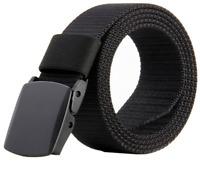 Nylon Belts for Men, Nylon Canvas Breathable Military Tactical Men Waist B