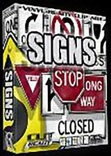 SIGN VECTOR CLIP ART FOR SIGNS VINYL CUTTER PLOTTER SOFTWARE EPS CUT READY ART