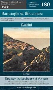 Barnstaple and Ilfracombe by Cassini Publishing Ltd (Sheet map, folded,2007)NEW