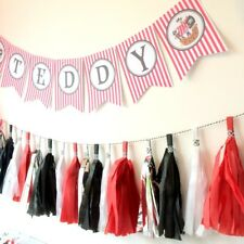 Pirate Bunting First/1st Birthday Party, Kids Bedroom, Boy's Party, Personalised
